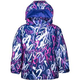 Kamik Heart Jacket Kids blue depth/magenta